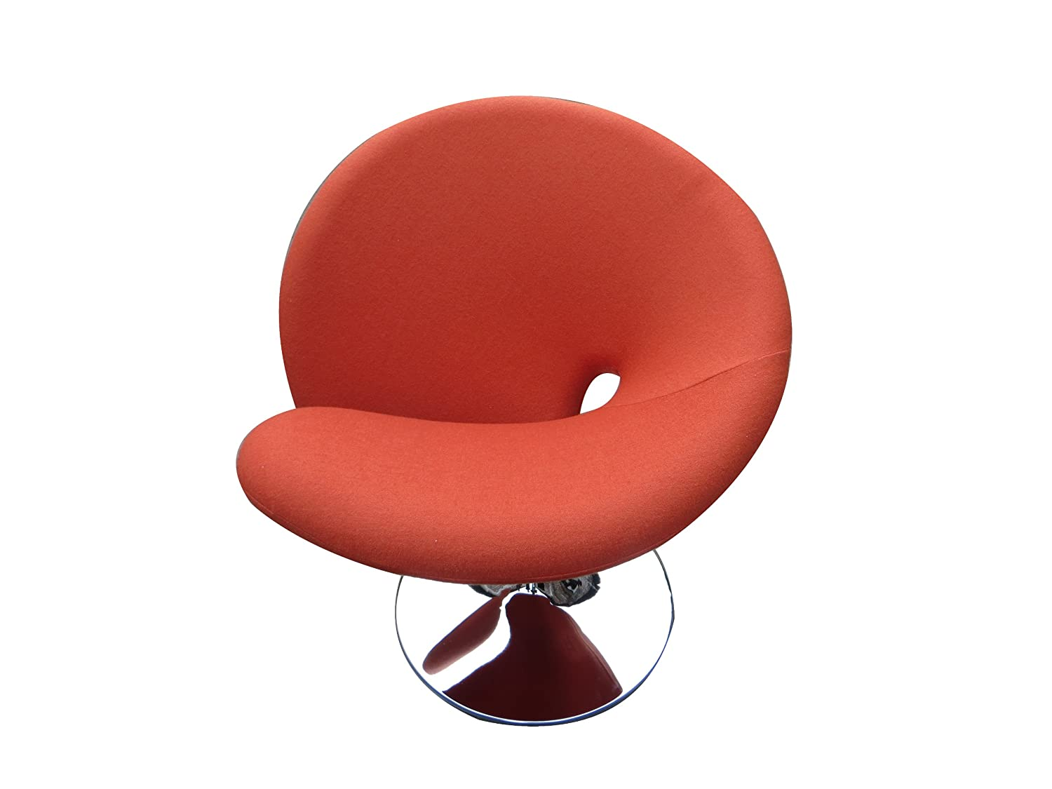 Fabulous International Design Usa Ziggy Swivel Leisure Chair Orange Interior Design Ideas Clesiryabchikinfo