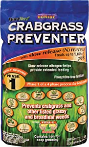 Bonide Products INC 60410 60412 Crab Grass Preventer, 5M