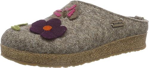 HAFLINGER Grizzly Garden Pantofole Donna