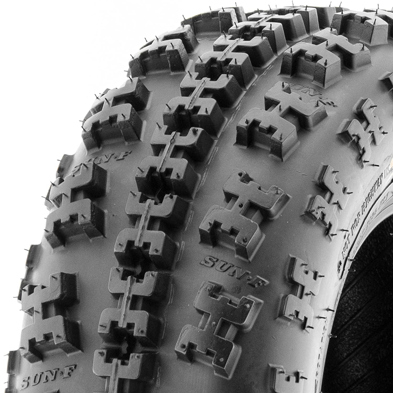SunF 21x7-10 6 Ply ATV UTV A/T Tires A027, [Single] LCF1|A027F|210710||x1