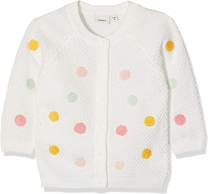 NAME IT Baby-M/ädchen Strickjacke Nbfdaddel Knit Card