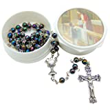 Amazon Price History for:Child's First Holy Communion Rosary with Gift Case Box