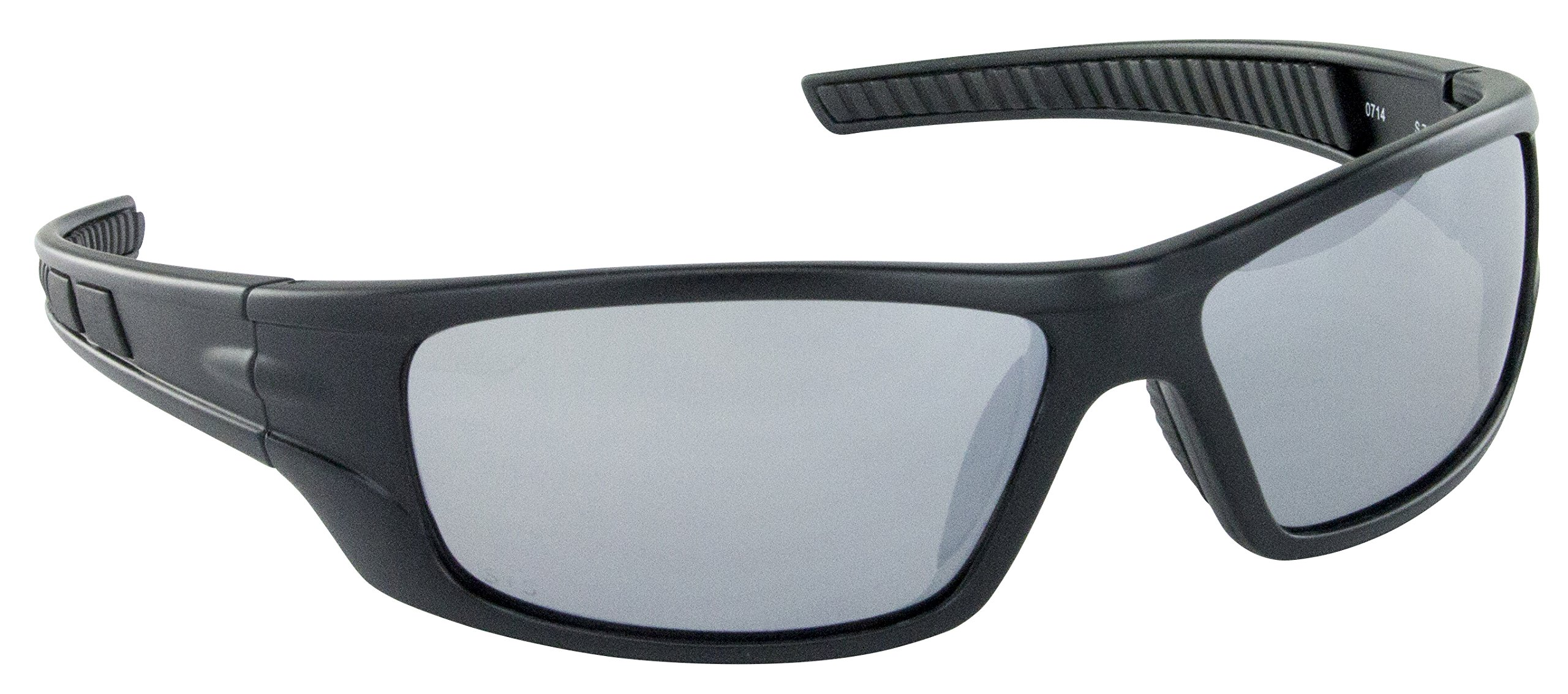 SAS Safety 5510-04 VX9 Safety Glasses with Mirror Lens, Black by SAS Safety
