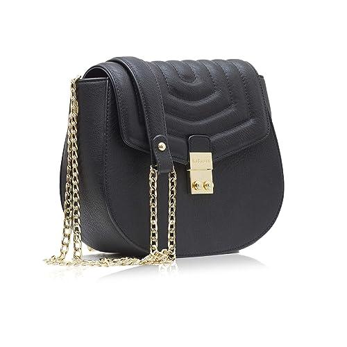 LaBante - bolso bandolera mujer - Courtney - bolso negro mujer bolso pequeño mujer bolsos clutch