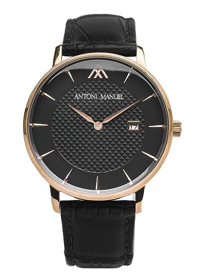 Negro G. Miller Classico-Reloj