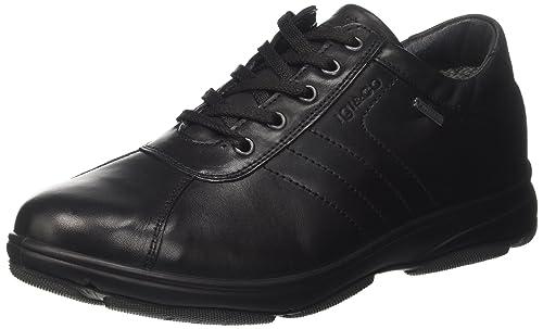 IGI&Co Ubagt 8710 - Zapatos Brogue Hombre, Negro, 40 EU