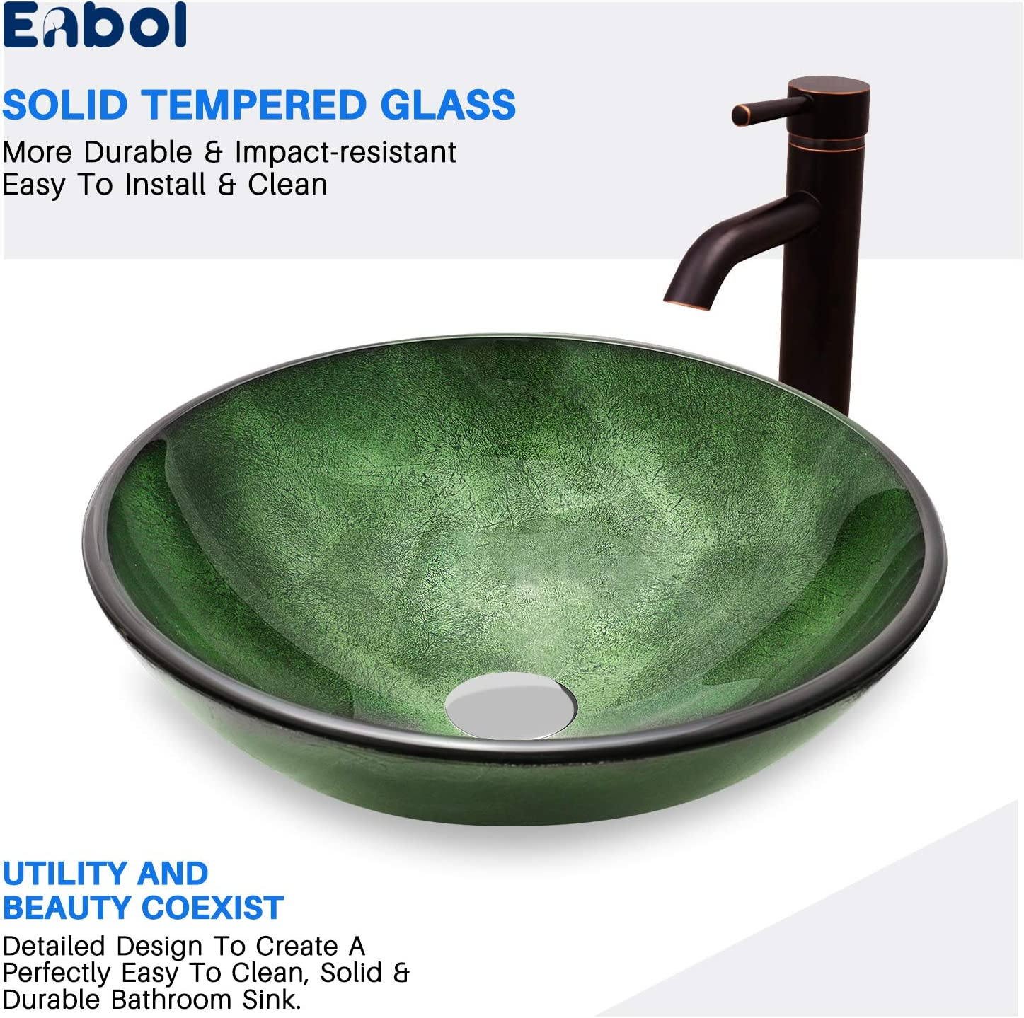 Kitchen & Bath Fixtures Vessel Sinks installsolar.com.ng Enbol EGS ...