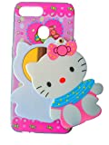 ANVIKA 3D Designer Mirror Hello Kitty Case Cover for Oppo A7 Launch-Multi Colour