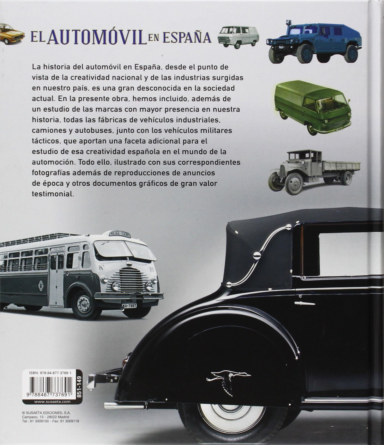 El automóvil en España (Atlas Ilustrado): Amazon.es: Equipo de Susaeta: Libros