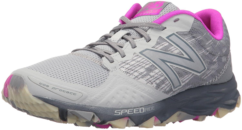 New Balance Women's 690v2 Trail Running Shoes B01CQVRB2K 5 D US|Silver/Poisonberry
