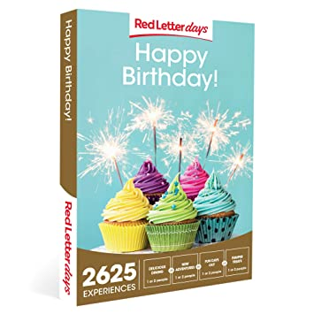 Red Letter Days Happy Birthday Gift Voucher 2625 Exciting Experiences