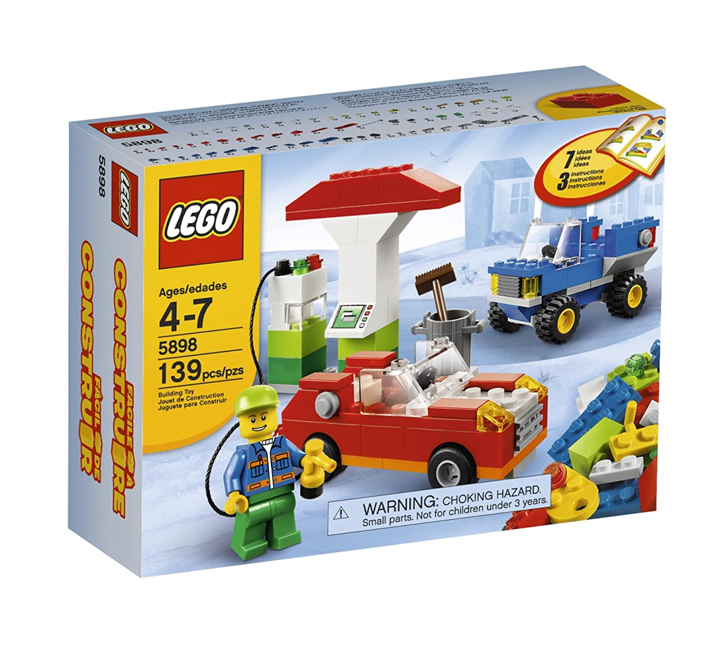 Amazon Lego Cars Building Set 5898 Toys Games