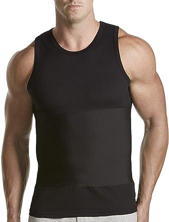 203a22098227a Harbor Bay by DXL Big and Tall Shapewear Tank T-Shirt at Amazon Men s  Clothing store