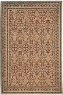 """product image for Capel Rugs Biltmore Salva-Parlor Area Rug, 5' 3"""" x 7' 10"""", Ivory Blue"""