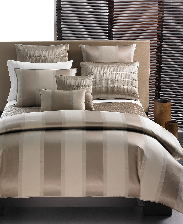 Amazon.com: Hotel Collection WIDE STRIPE Quilted Queen Coverlet ... : hotel collection quilted coverlet - Adamdwight.com