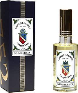 product image for Caswell-Massey Number Six Cologne Spray – Aromatic Blend of Orange Blossom, Bergamot and Rosemary – 3 Ounces