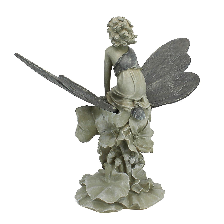 Awesome Amazon.com : Design Toscano A Fairyu0027s Wondrous Butterfly Ride Statue : Outdoor  Statues : Garden U0026 Outdoor