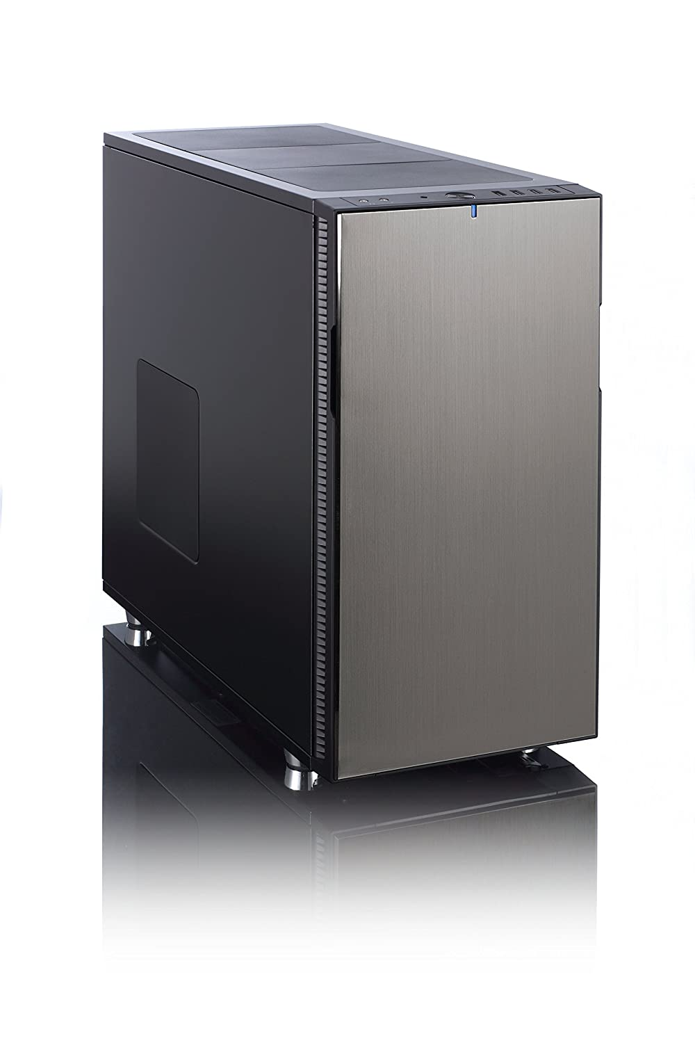 Fractual Design FD-CA-DEF-R5-TI - Caja de ordenador (Midi-Tower, PC, ATX, Micro-ATX, Mini-ITX, Bottom, 1 x 140 mm, 120/140 mm): Amazon.es: Informática
