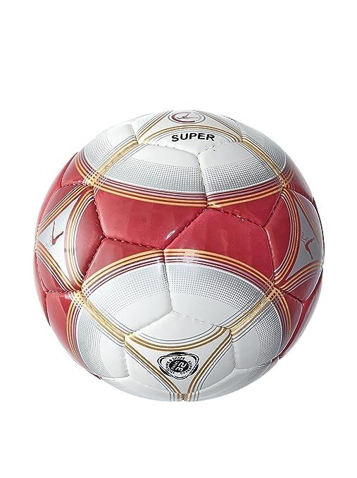 LEGEA Balón de Fútbol Super Kid Granate/Dorado 4 años (104 cm ...