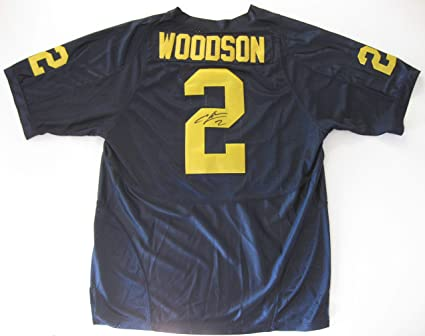 best website f4441 9fd95 Charles Woodson signed autographed Michigan Wolverines ...