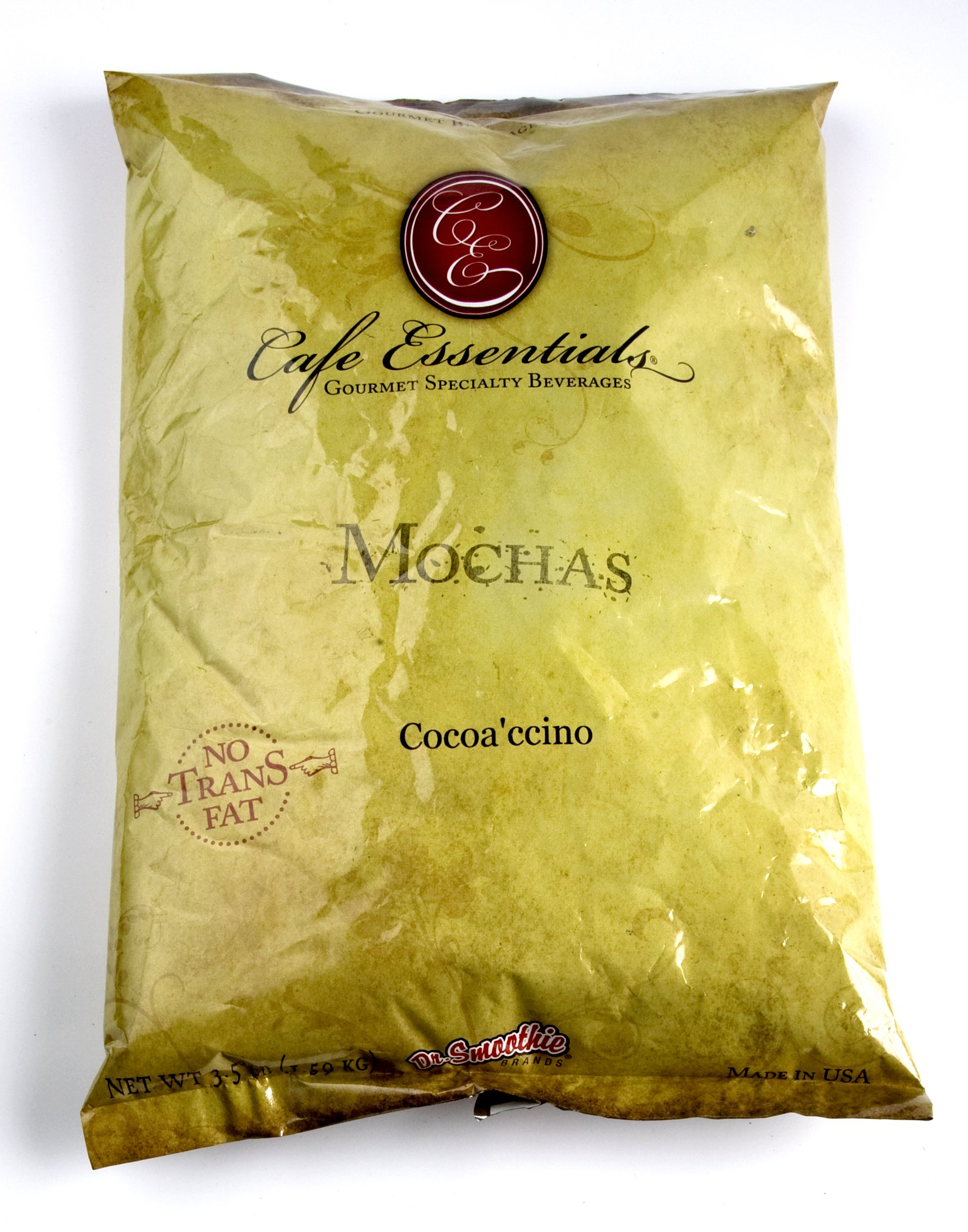 Cafe Essentials Naturals Cocoa'Ccino Beverage Mix Bags, 3.5-Pounds