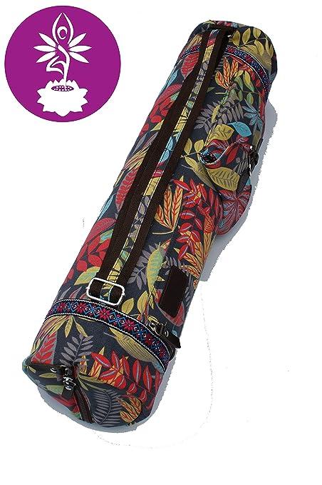 Bolsa de Yoga de algodón Extra Grande para Esterilla de Yoga ...