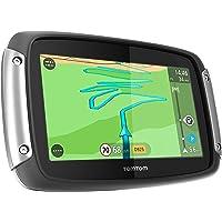 Tomtom Rider 40 Car Pack GPS da Moto, Mappa d' Europa Occidentale, Staffa Auto Inclusa, Nero/Antracite