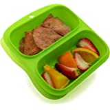 Goodbyn Small Meal Box, Green (Discontinued by Manufacturer)