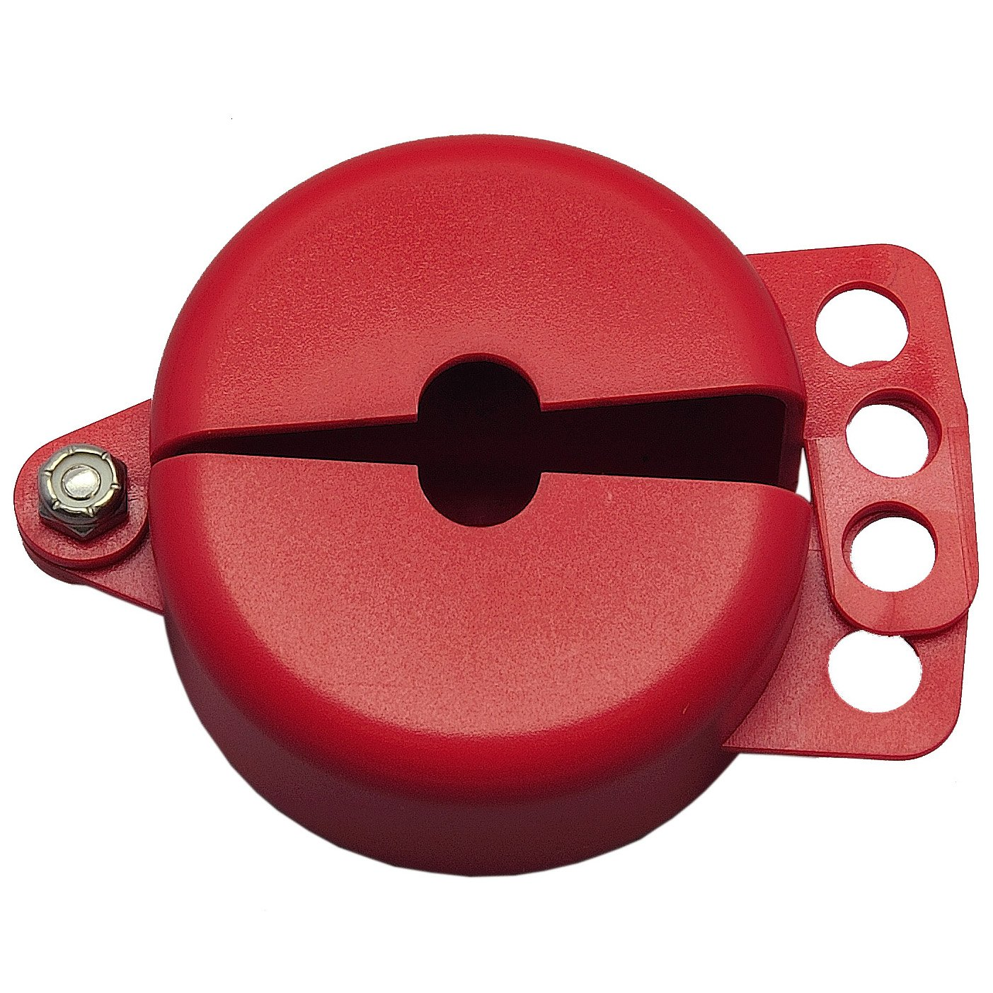 ZING 7103 RecycLockout Gate Valve Lockout, 1 Inch - 2.5 Inch, Recycled Plastic