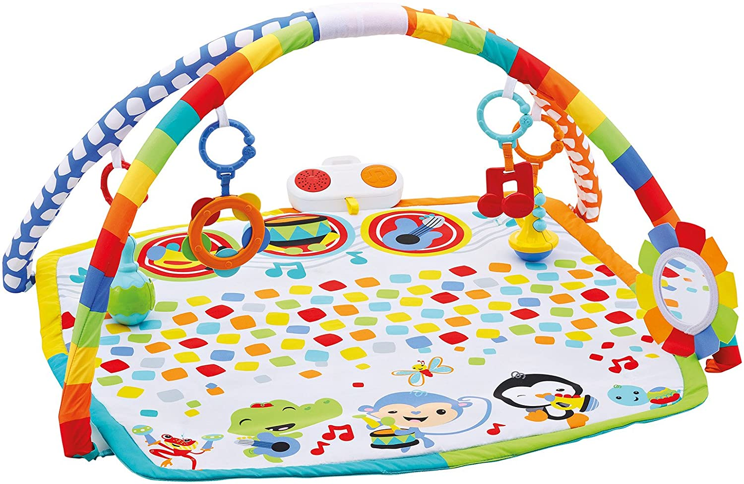 Infant Gimnasio musical Fisher Price Mattel DFP