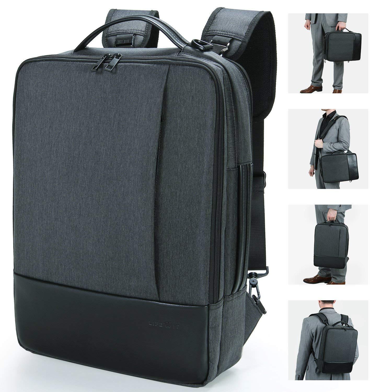 9360fca680 Lifewit Sac à Dos Ordinateur Portable, Sac à Bandoulière Laptop 15.6 Pouces  Backpack Rucksack avec Couverture de Pluie Unisexe Femme Homme pour  Randonnée ...
