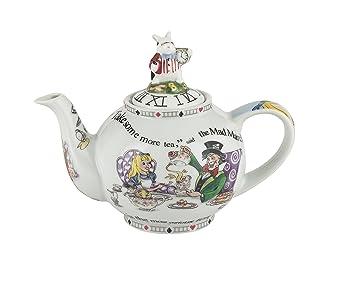 Amazoncom Cardew Design Alice In Wonderland 2 Cup Teapot 18