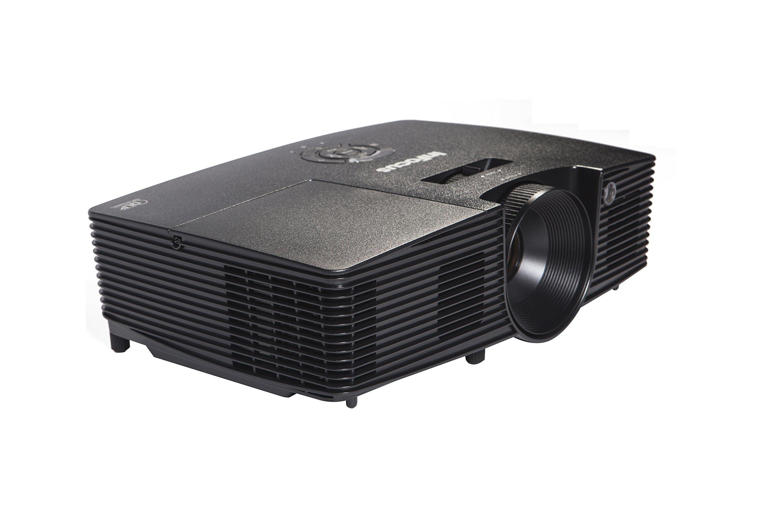 InFocus IN114XA Projector, DLP XGA 3600 Lumens 3D Ready 2HDMI With Speakers