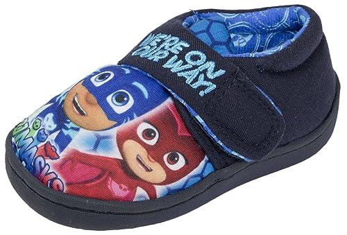 PJ Masks - Sandalias con cuña para Chico, Color Azul, Talla 22 EU Niño