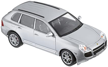 WELLY 1/18 12529W PORSCHE CAYENNE TURBO BLACK