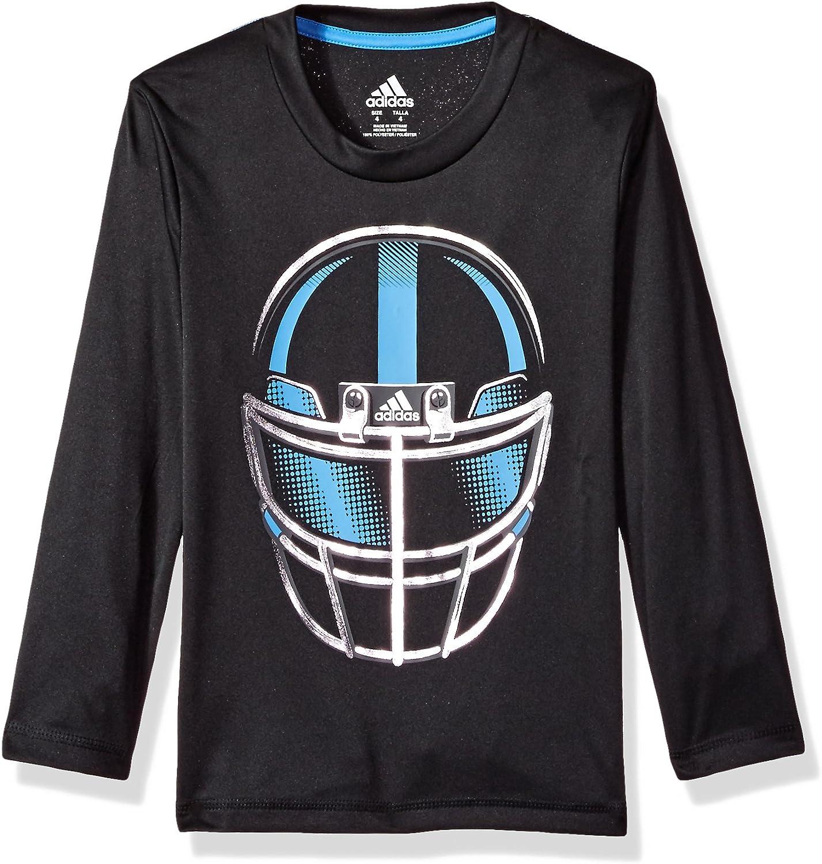 adidas Boys Ls Defense Helmet Tee