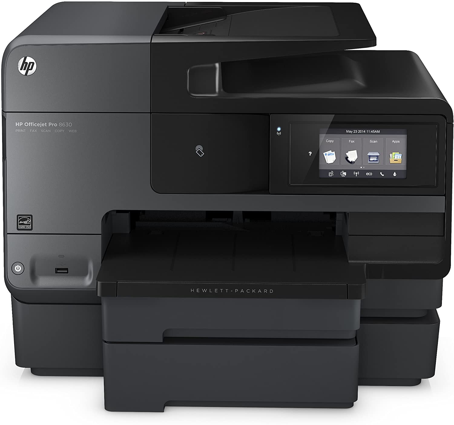 HP OfficeJet Pro 8630 All-in-One Wireless Printer with Mobile Printing, HP Instant Ink or Amazon Dash replenishment ready (A7F66A)