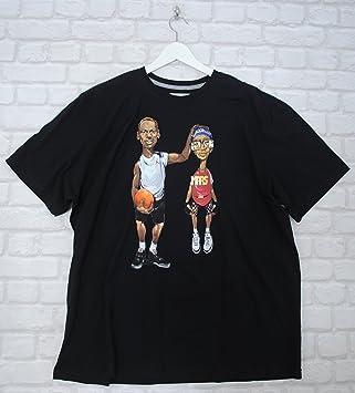 b68a4c49b73c Nike Mens Michael Jordan Spike Lee Mars Basketball Black Tee T-shirt XXXL  3XL  Amazon.co.uk  Sports   Outdoors