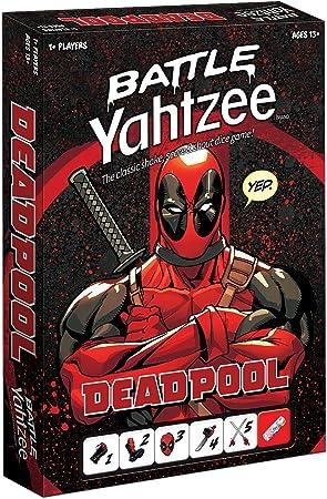 Marvel Deadpool Battle Yahtzee Juego de Mesa: Amazon.es: Juguetes y juegos