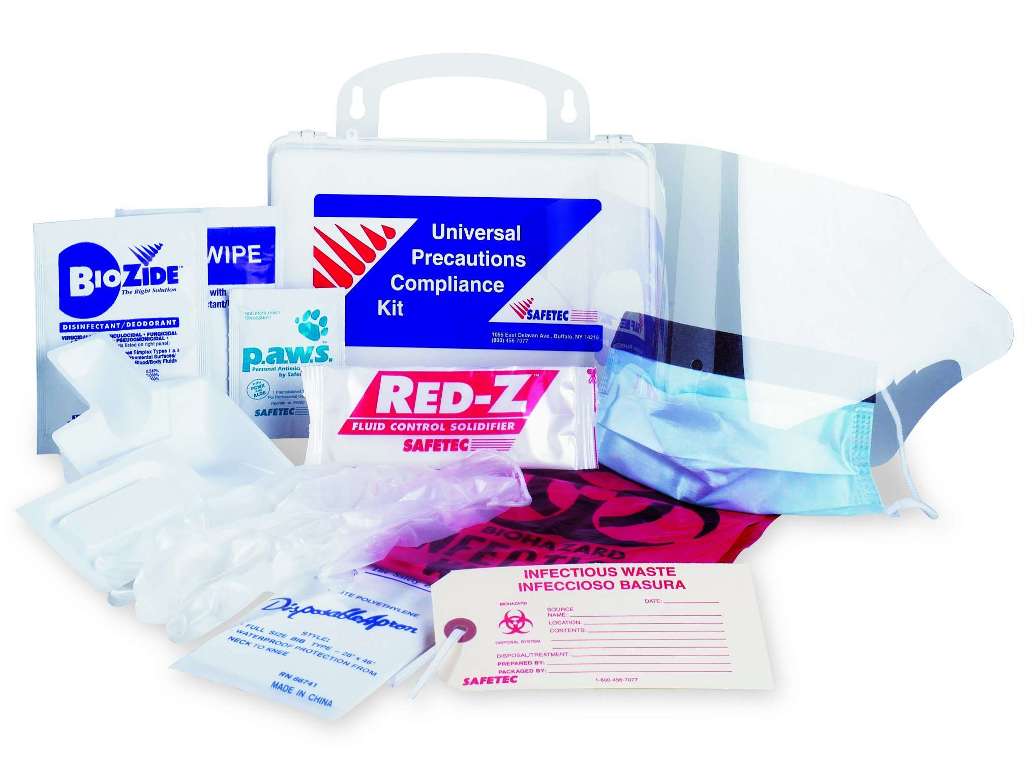 Medique Products SS17102 Universal Precautions Compliance First Aid Kit by Medique