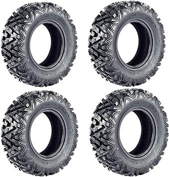Set of 4 WANDA ATV//UTV Tires 25X8-12 25X10-12 for 2003-2013 KAWASAKI TERYX 750
