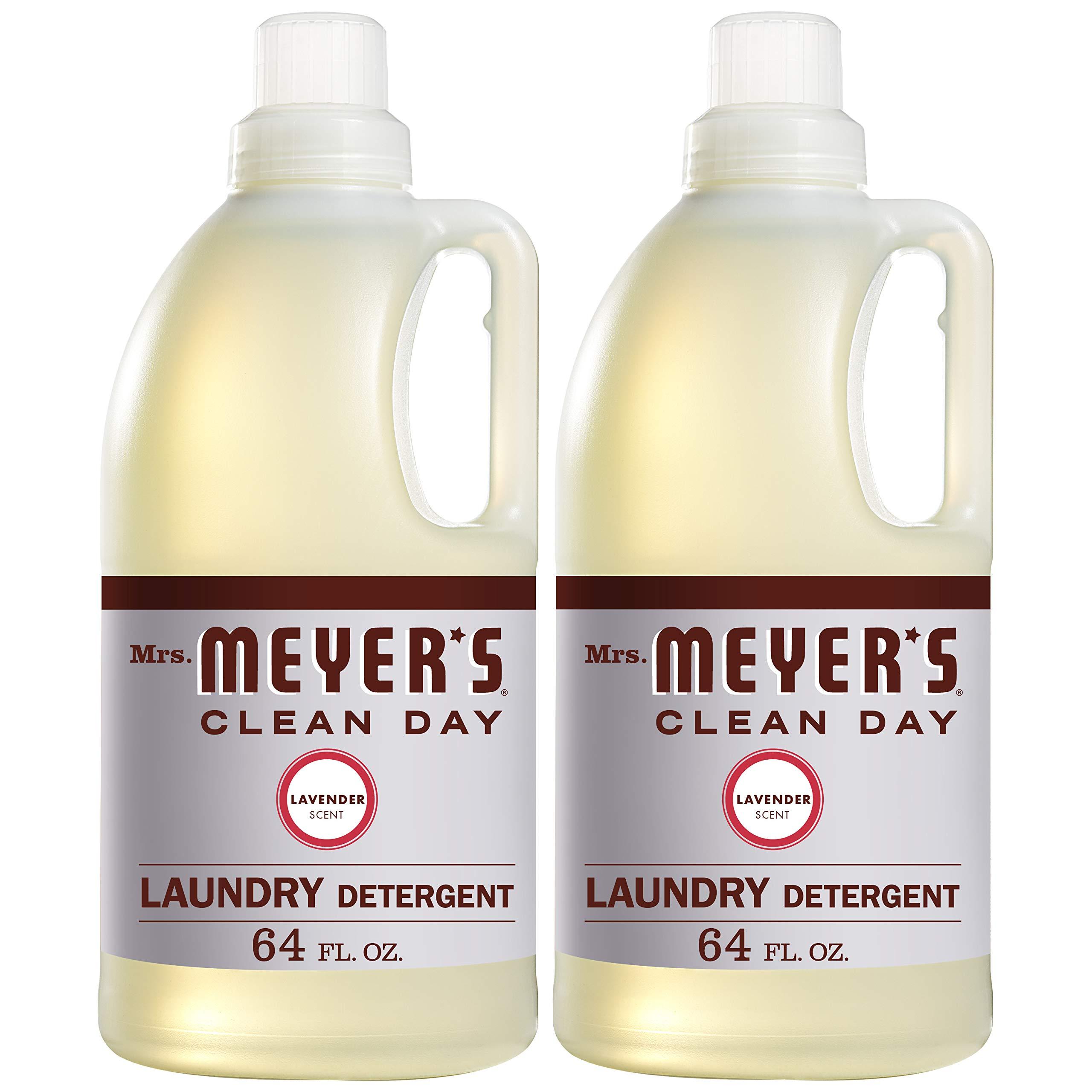Mrs. Meyer's Laundry Detergent, Lavender, 64 fl oz (2 ct) by Mrs. Meyer's Clean Day