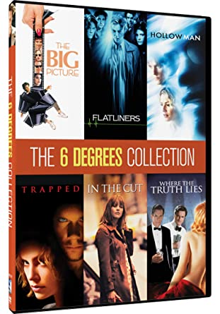 Amazon Com 6 Degrees Collection Kevin Bacon 6 Movies Kevin Bacon Jennifer Jason Leigh Colin Firth Julia Roberts Kiefer Sutherland Josh Brolin Elisabeth Shue Various Movies Tv