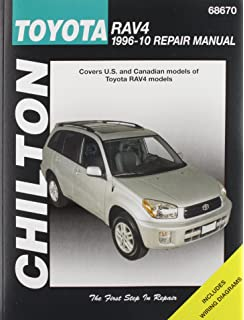 Toyota rav4 chilton automotive repair manual 1996 12 haynes chilton total car care toyota rav 4 1996 2010 repair manual chiltons total car fandeluxe Gallery
