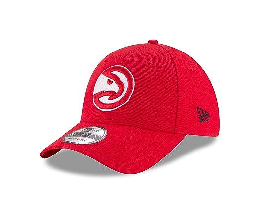 Gorra de béisbol 9FORTY NBA The League Atlanta Hawks de New Era - Rojo