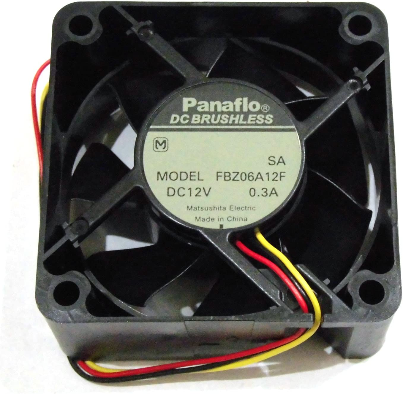 PANAFLO FBA06A12H 12V 0.22A FAN UNIT 3 WIRES
