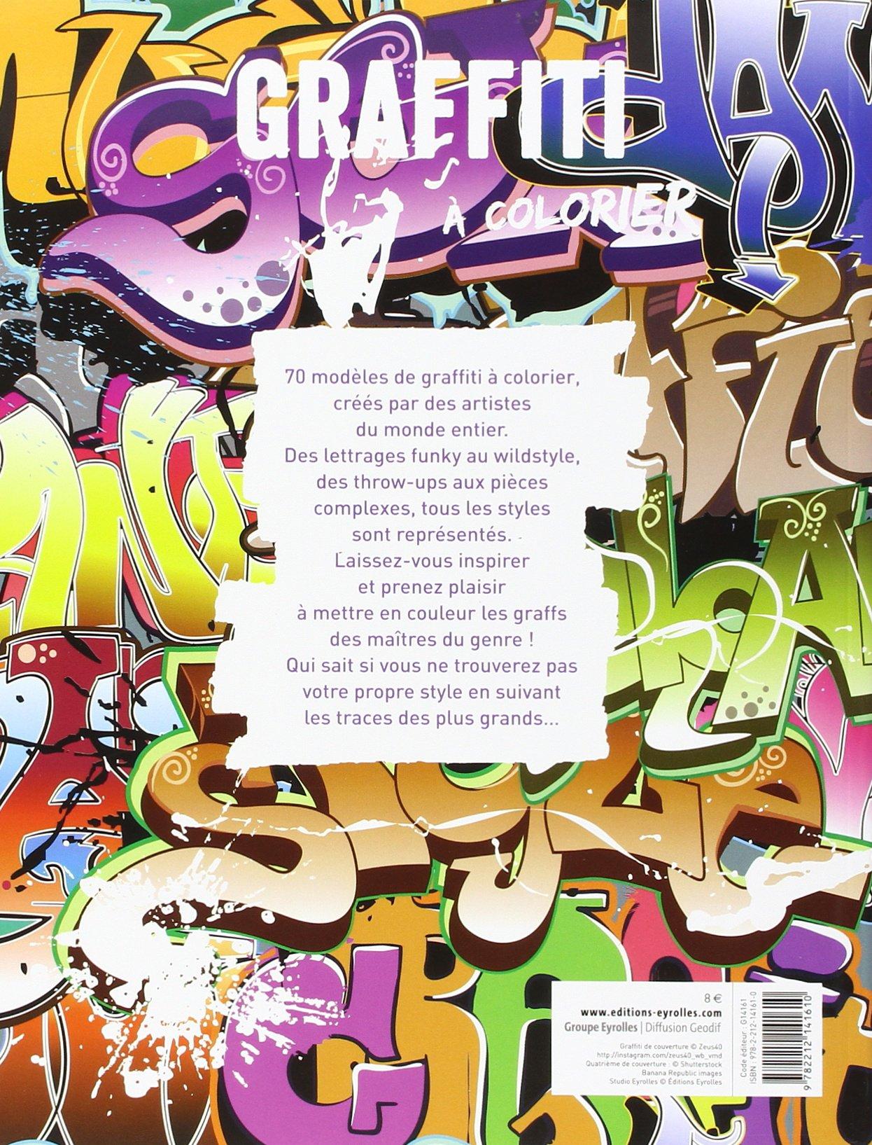 Graffiti A Colorier Amazon Fr Collectif Livres