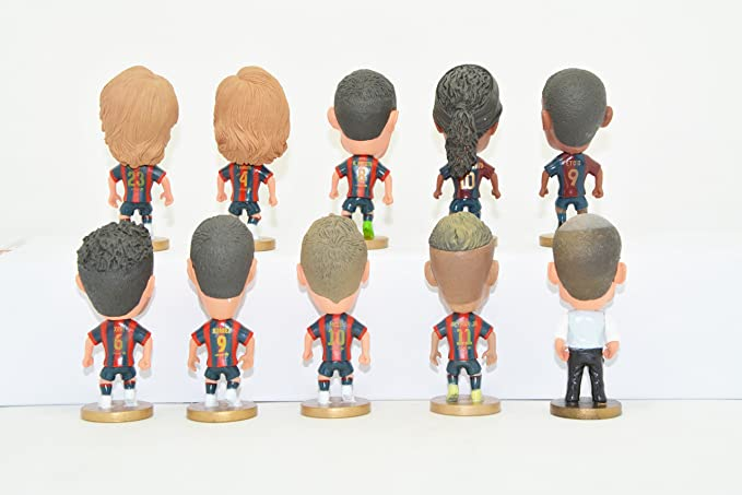 Amazon.com: Futbol Club Barcelona Soccer Action Figure ...