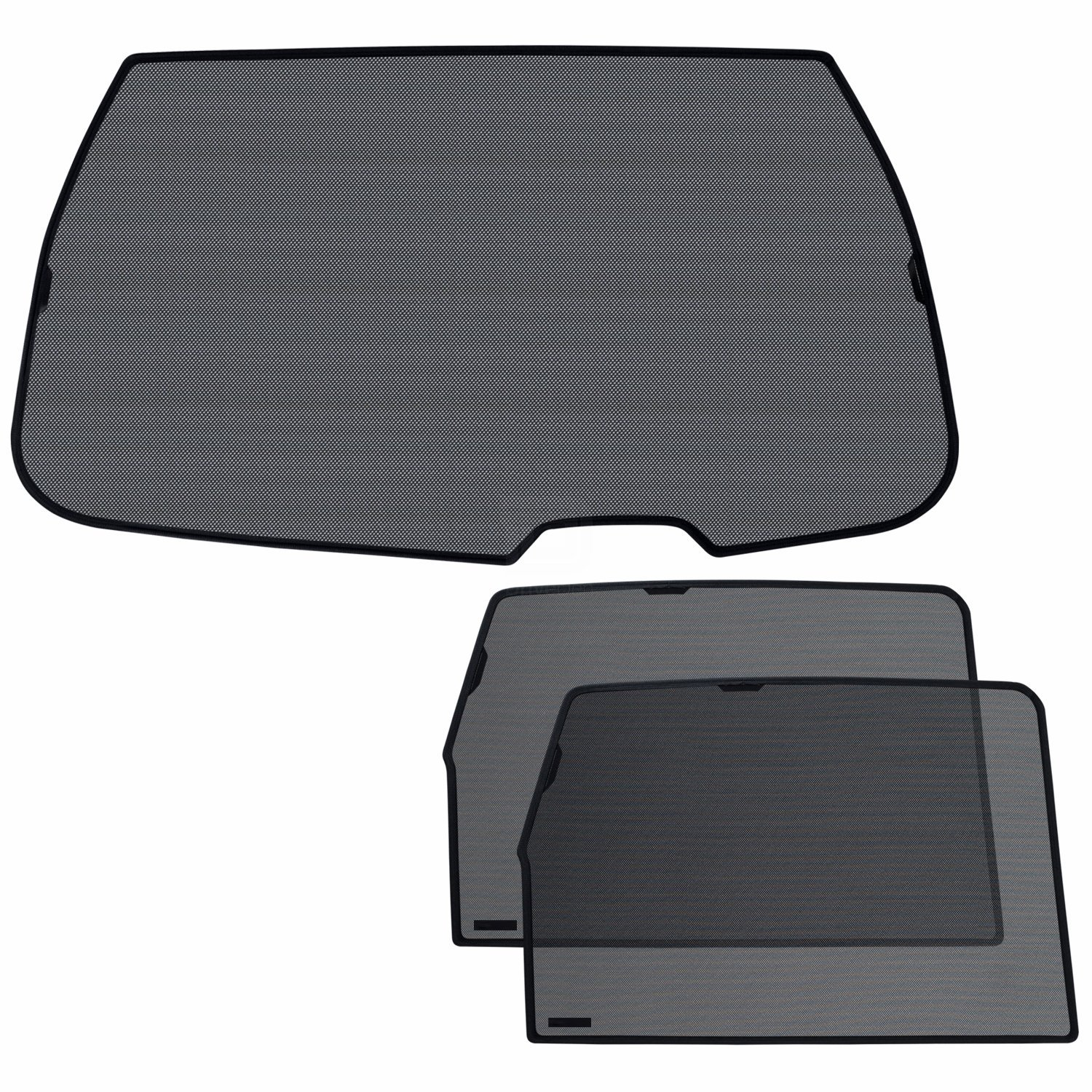 Laitovo NP-B-43 Classic Tailored Privacy Rear Window Sunshade Set