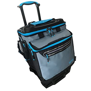 Artic Zone Titan Collapsible High Performance Rolling Cooler, 60 Cans